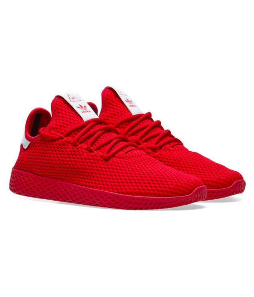 681ddba12 Adidas x PHARRELL WILLIAMS HU TENNIS Red Casual Shoes - Buy Adidas x PHARRELL  WILLIAMS HU TENNIS Red Casual Shoes Online at Best Prices in India on  Snapdeal