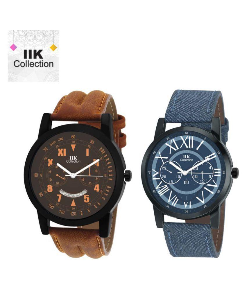 IIK Collection Combo Analog Wrist Watch For Men & Boys (IIK-905M-953M)