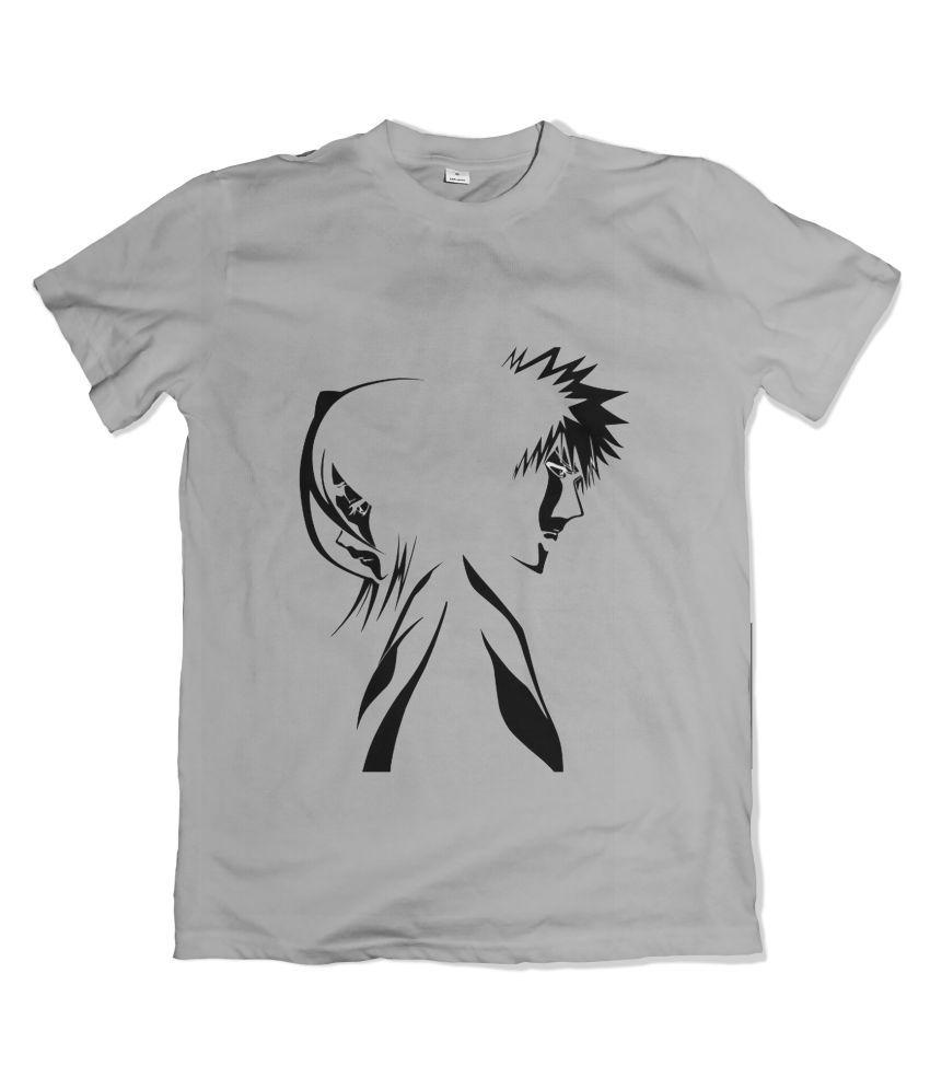 GUI SHIRTS Black Half Sleeve T-Shirt Pack of 1
