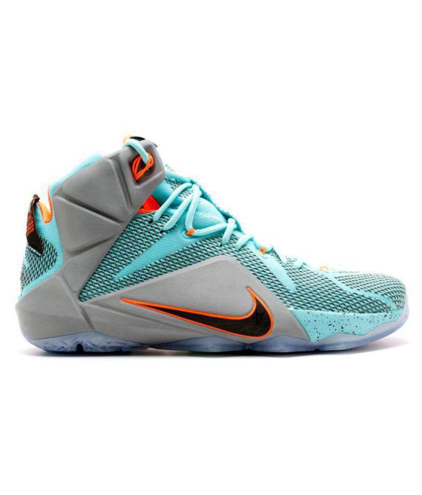 857fc2423ba0 Nike Lebron X11 NSLR Green Basketball Shoes - Buy Nike Lebron X11 ...