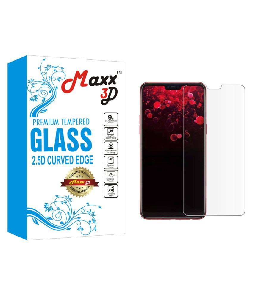 RealMe 1 Tempered Glass Screen Guard By MAXX3D
