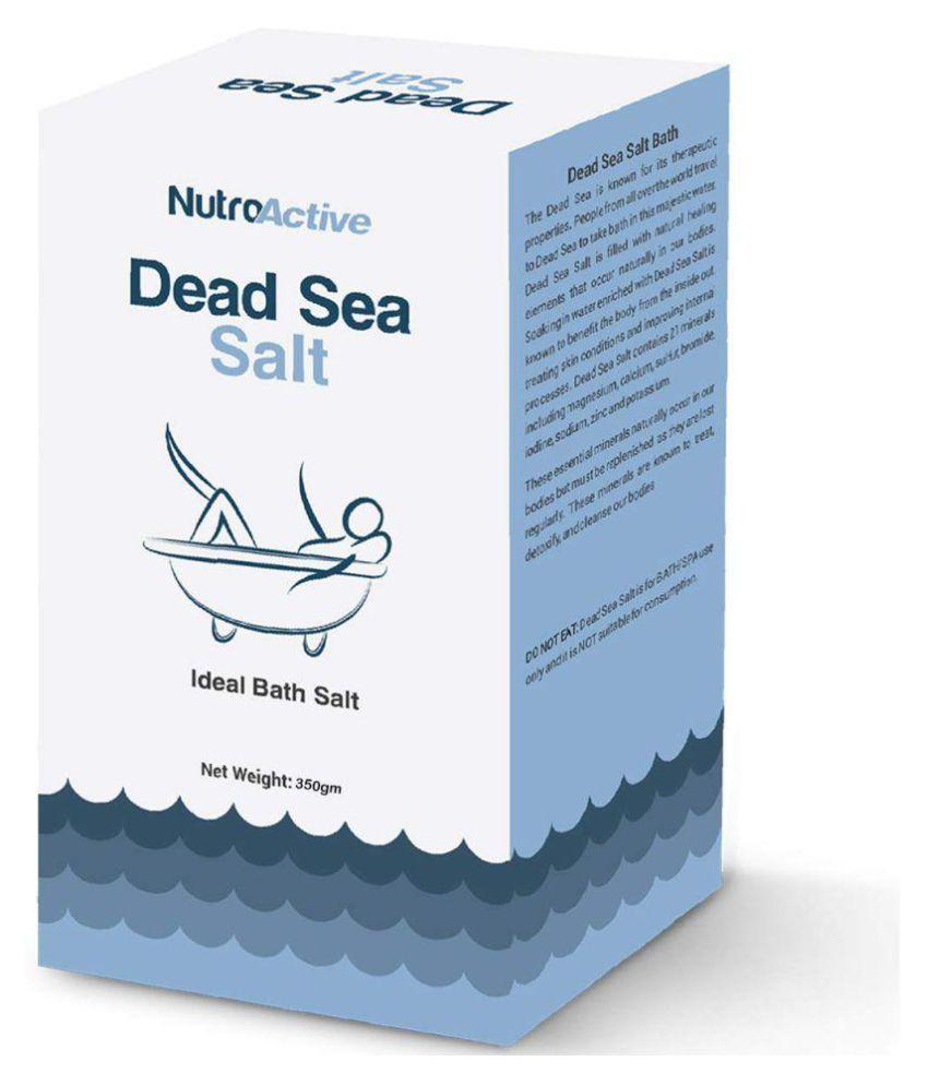 NutroActive Crystal Dead Sea Salt 350 gm