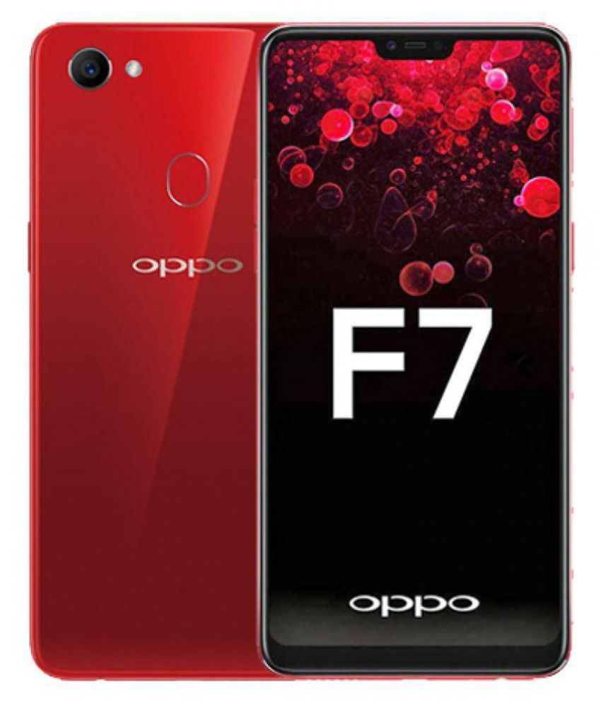 Oppo Red F7with 6.23''HD display, 64GB