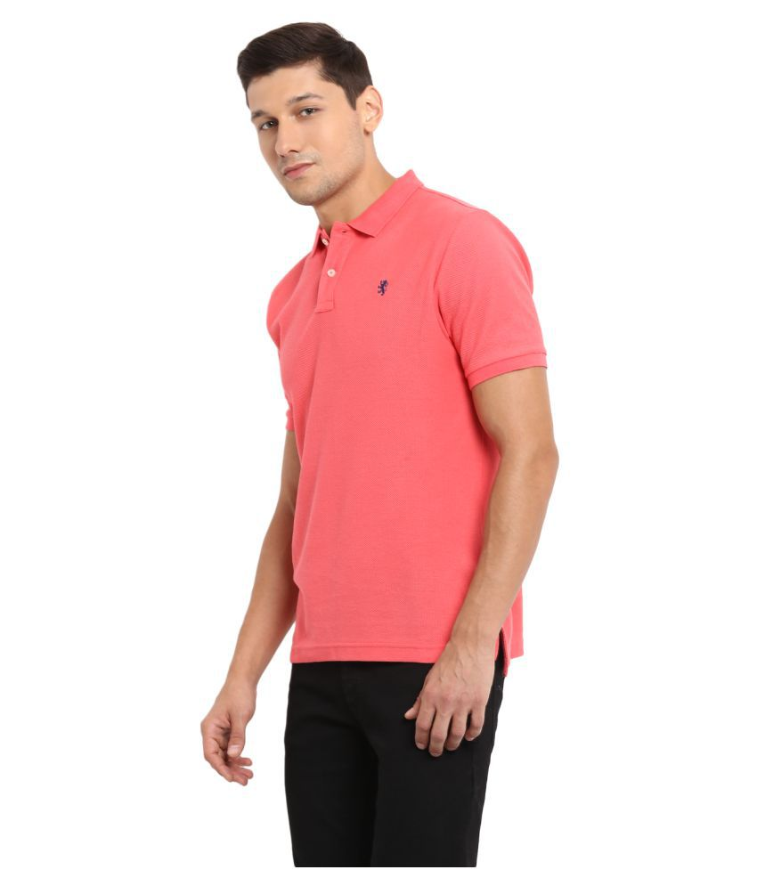 2628d32602d Red Tape Peach Regular Fit Polo T Shirt - Buy Red Tape Peach Regular Fit  Polo T Shirt Online at Low Price - Snapdeal.com