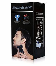 BROADCARE New Broadcare 4D floating Rotary Electric Shaver 4in1 Rotary Shaver ( )