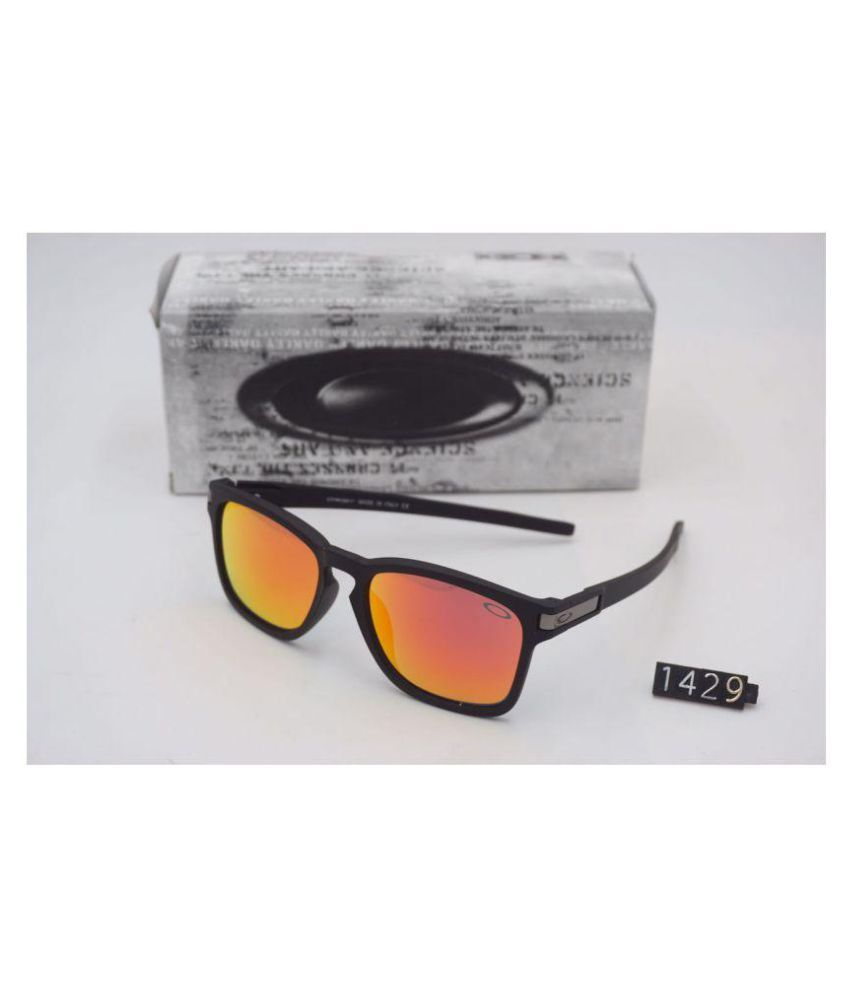 3aac7260c5 Oakley Sunglasses Orange Rectangle Sunglasses ( 1429 ) - Buy Oakley Sunglasses  Orange Rectangle Sunglasses ( 1429 ) Online at Low Price - Snapdeal