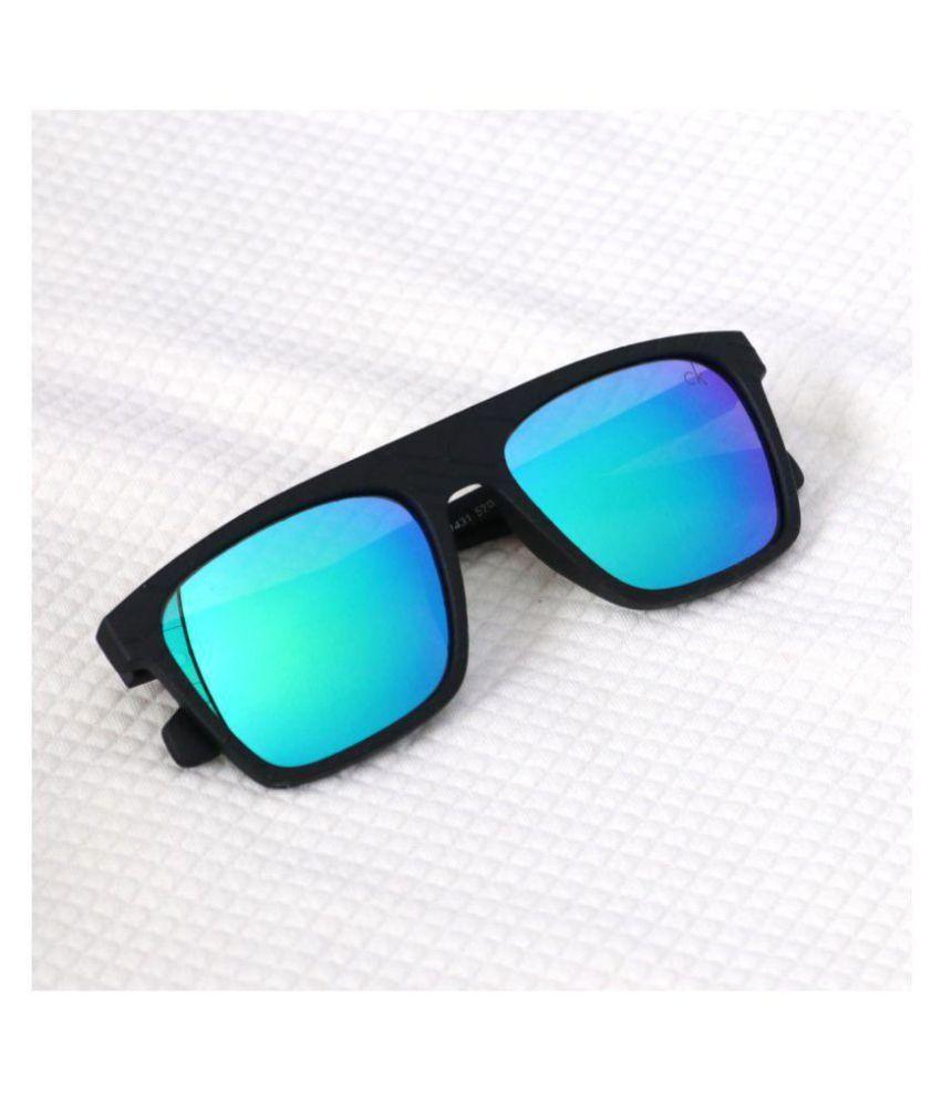 f942b775abce CELVIN KELIN Blue Wayfarer Sunglasses ( J1431 ) - Buy CELVIN KELIN ...