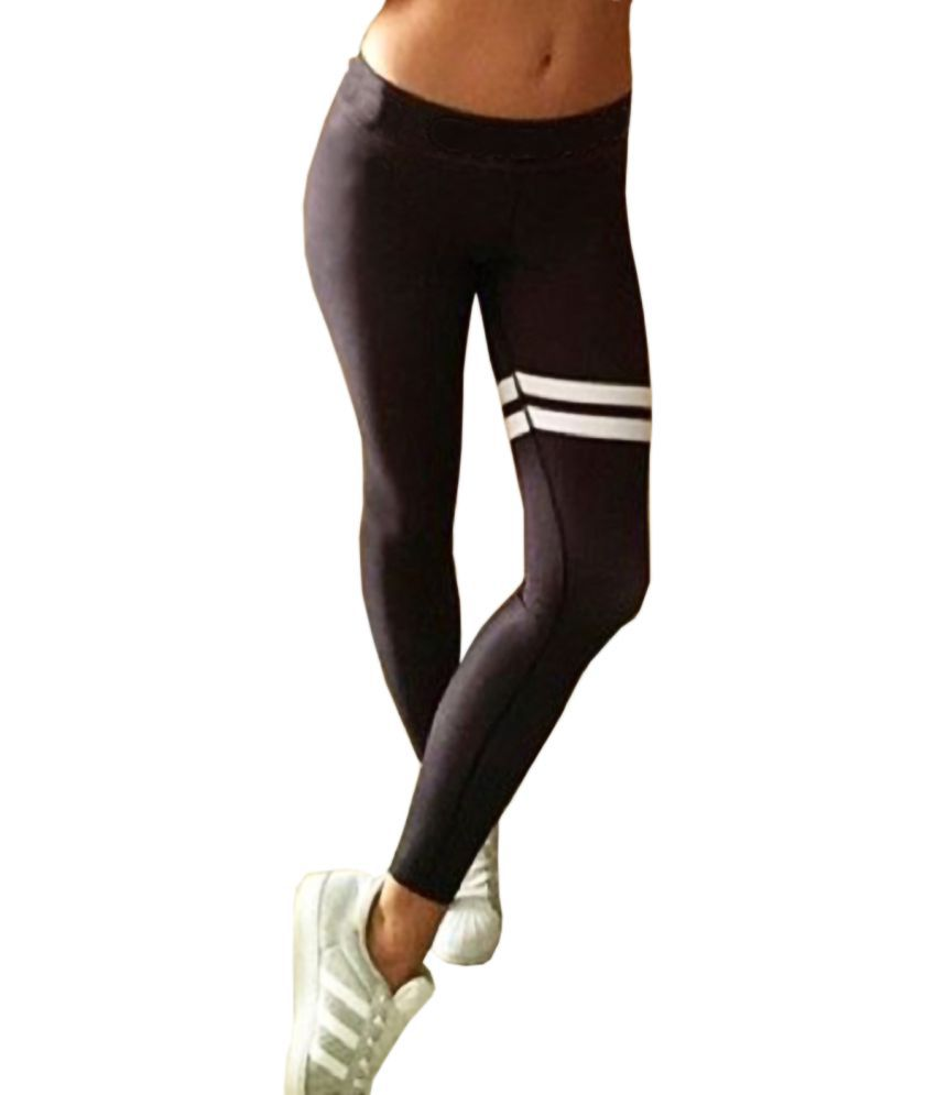 iSweven Polyester Blend Tights - Black
