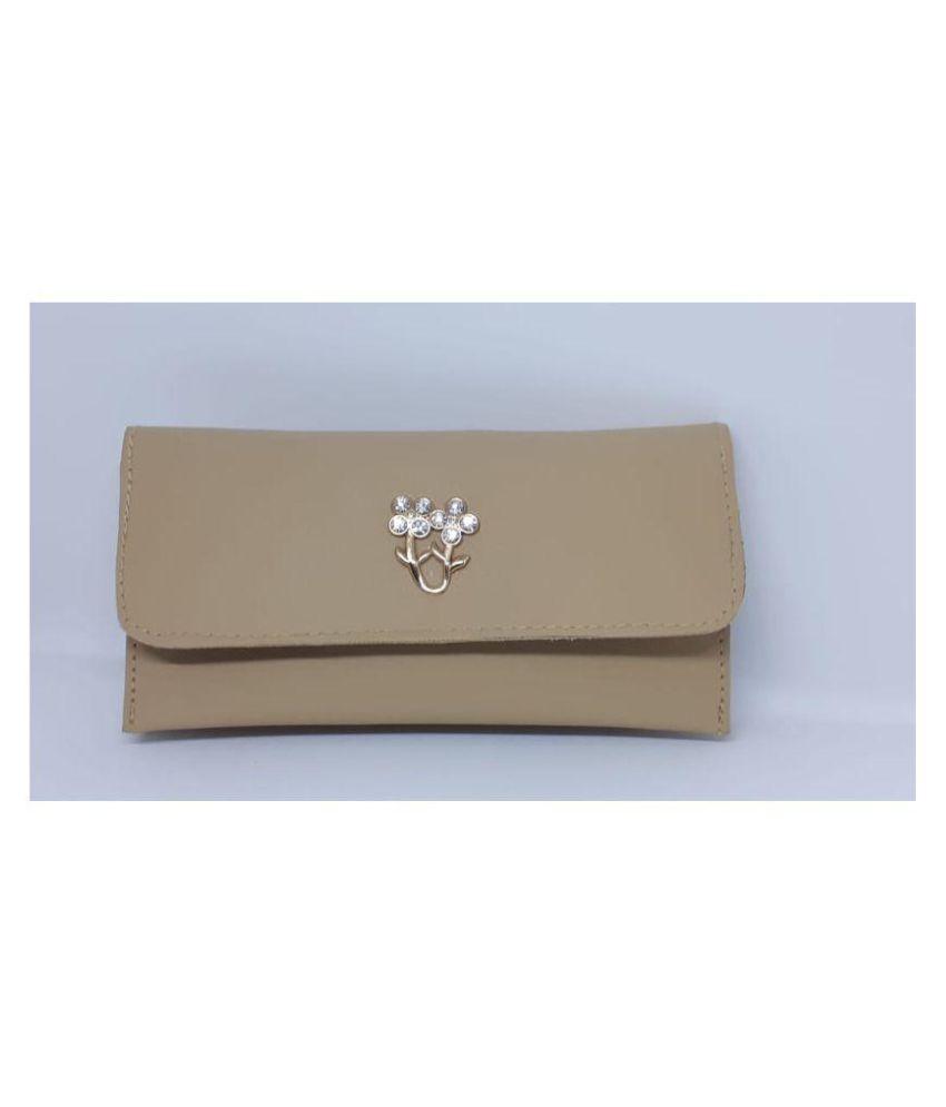 Kunal Bag House Metallic Gold Canvas Handheld