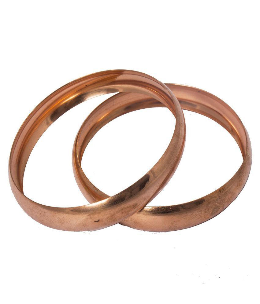 Her Rang Women's Handcrafted Copper Plated Fashion Bracelet