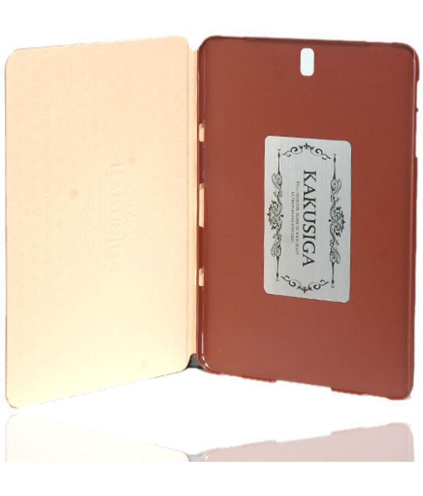 SamsungGalaxy Tab S3 Flip Cover By ikaku Brown