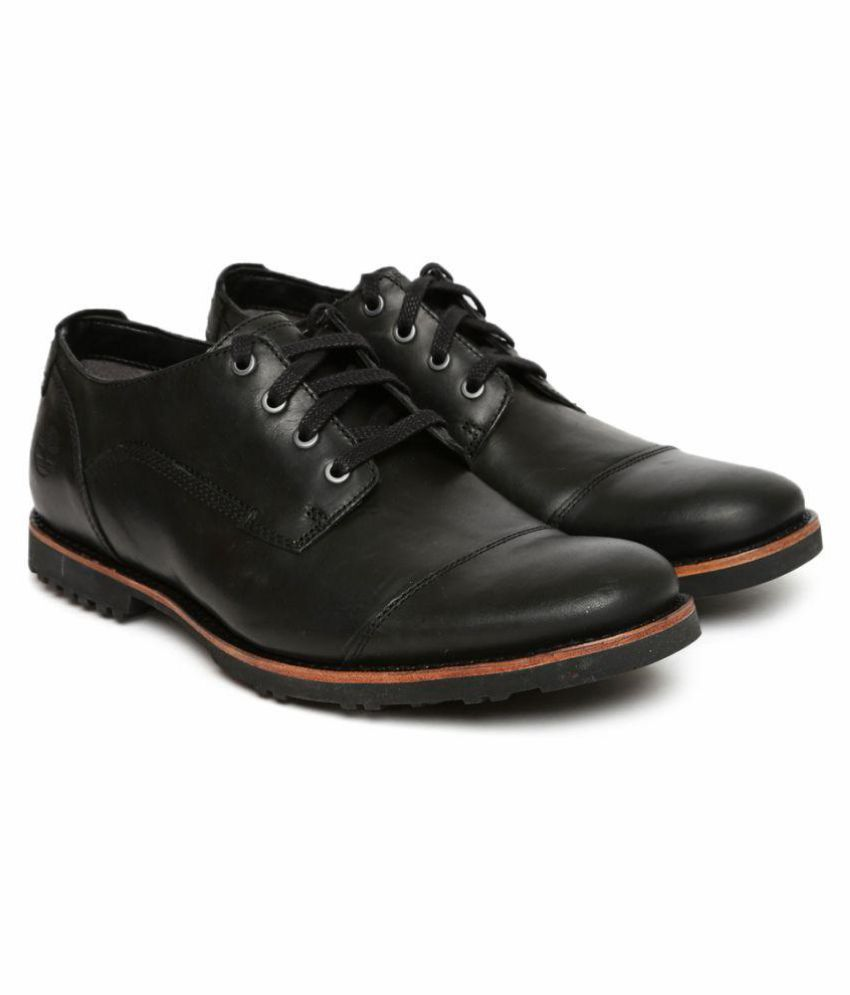 new arrival 7ef03 3a808 Timberland Derby Black Formal Shoes
