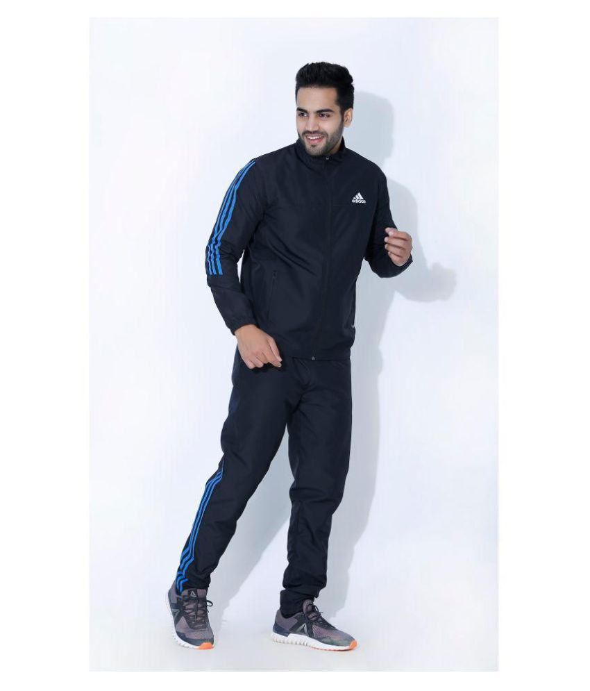 6905e0f89 Adidas men's Black Polyester Tracksuits - Buy Adidas men's Black ...
