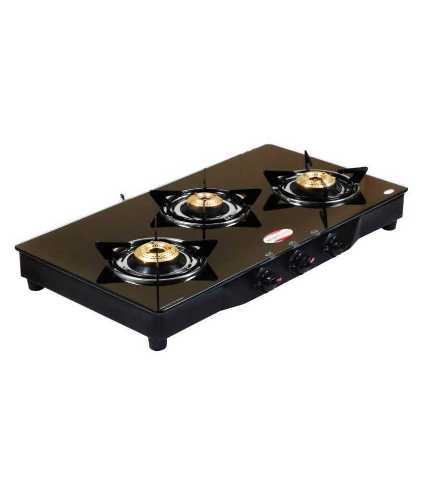 bright flame tulip ci 3 burner manual gas stove price in india buy rh snapdeal com