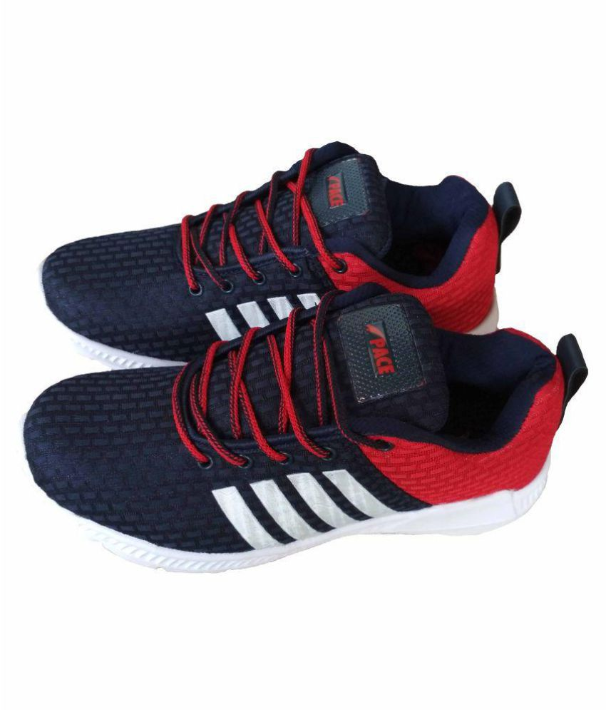 LAKHANI PACE Red Running Shoes - Buy