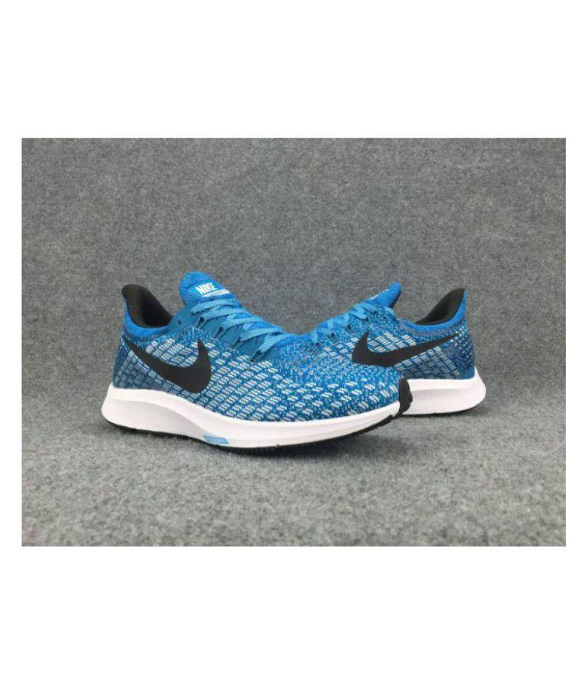 5ba8ed0a723 Nike Zoom Pegasus 35 Blue Running Shoes - Buy Nike Zoom Pegasus 35 ...