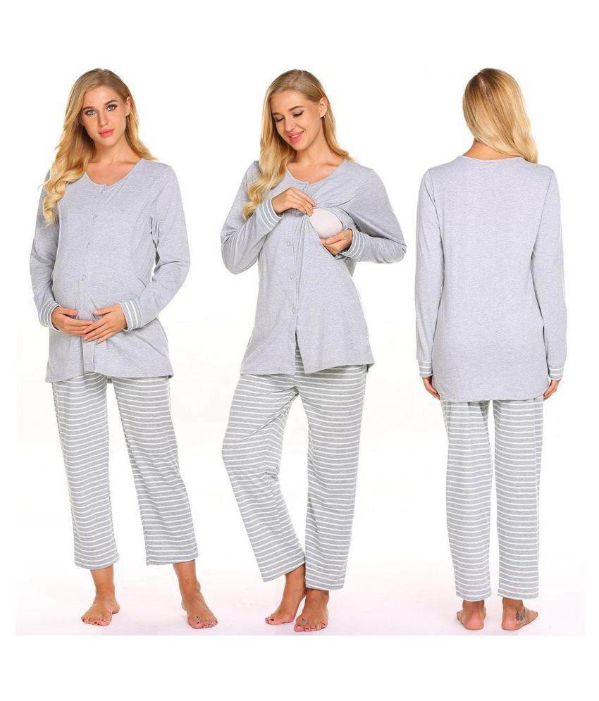 Generic Cotton Nightsuit Sets - Multi Color