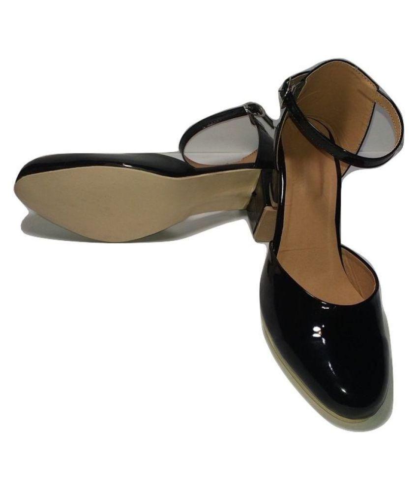 Faridan Style Enterprises Black Block Heels