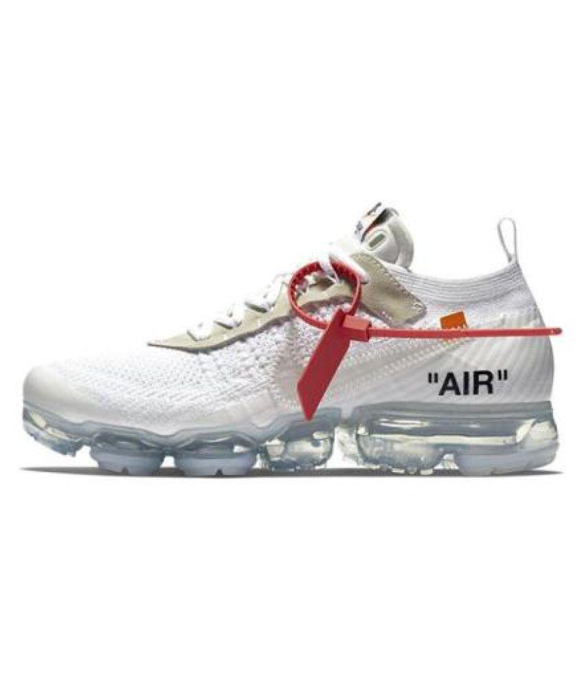 3c61422cae358 Nike vapormax off-white White Running Shoes - Buy Nike vapormax off ...