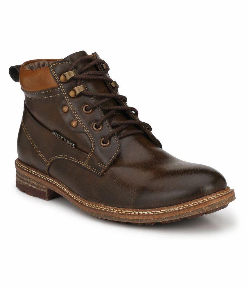 Alberto Torresi Tan Casual Boot