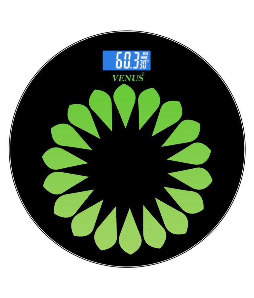 7ebb572ae3 Venus Digital Electronic LCD Personal Health Body Fitness Bathroom Weighing  Scale EPS-7299 Black Black  Buy Venus Digital Electronic LCD Personal  Health ...