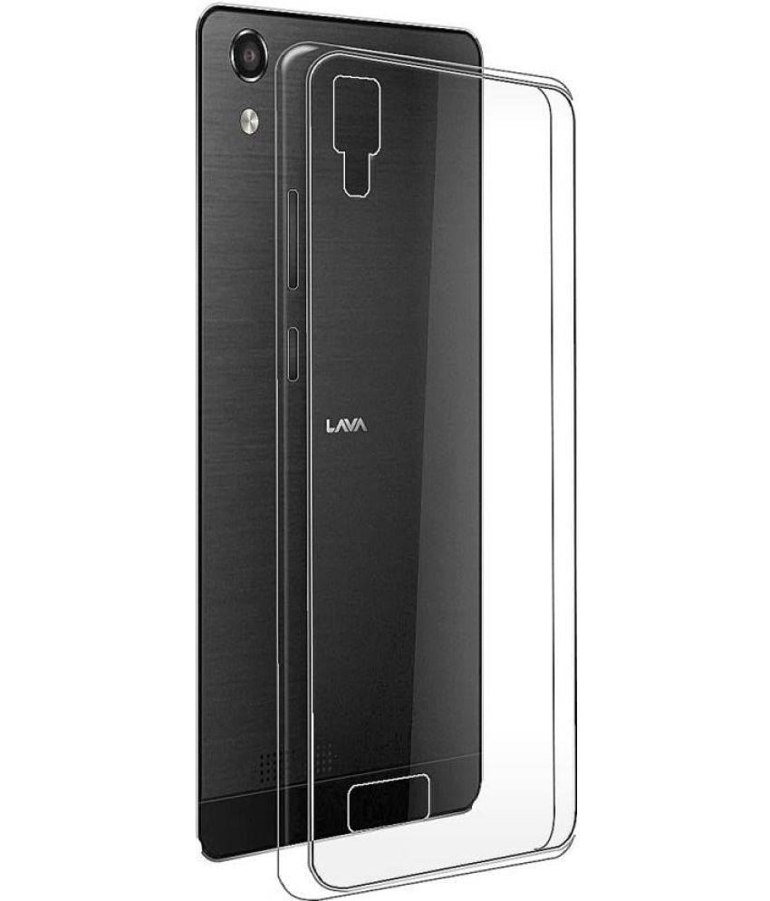 detailed look 46c73 a16ed Lava A52 Soft Silicon Cases B.kcreationsz - Transparent
