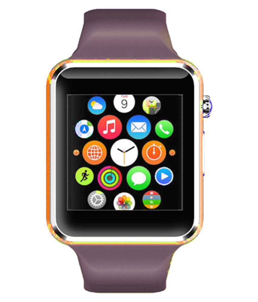 WOKIT Smartwatch Suited Asus ZenFone 4 Max A1 Golden Smart Watches