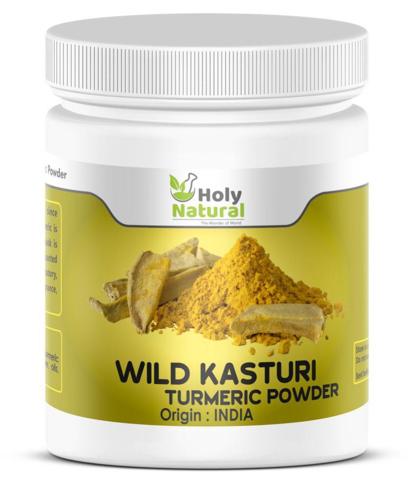 Holy Natural Wild Kasturi Turmeric Powder Skin Tonic 100 Gm Buy Oil
