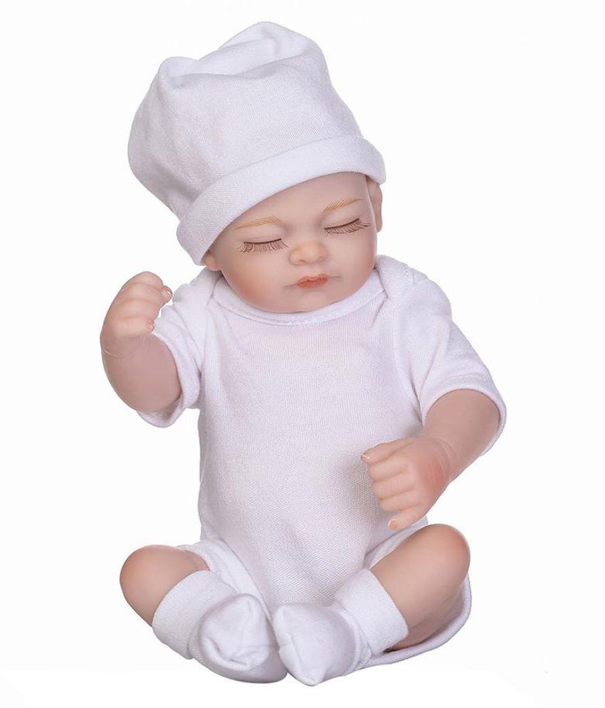 Lifelike Realistic Newborn Soft Silicone Baby Reborn Doll Children Gift Toy