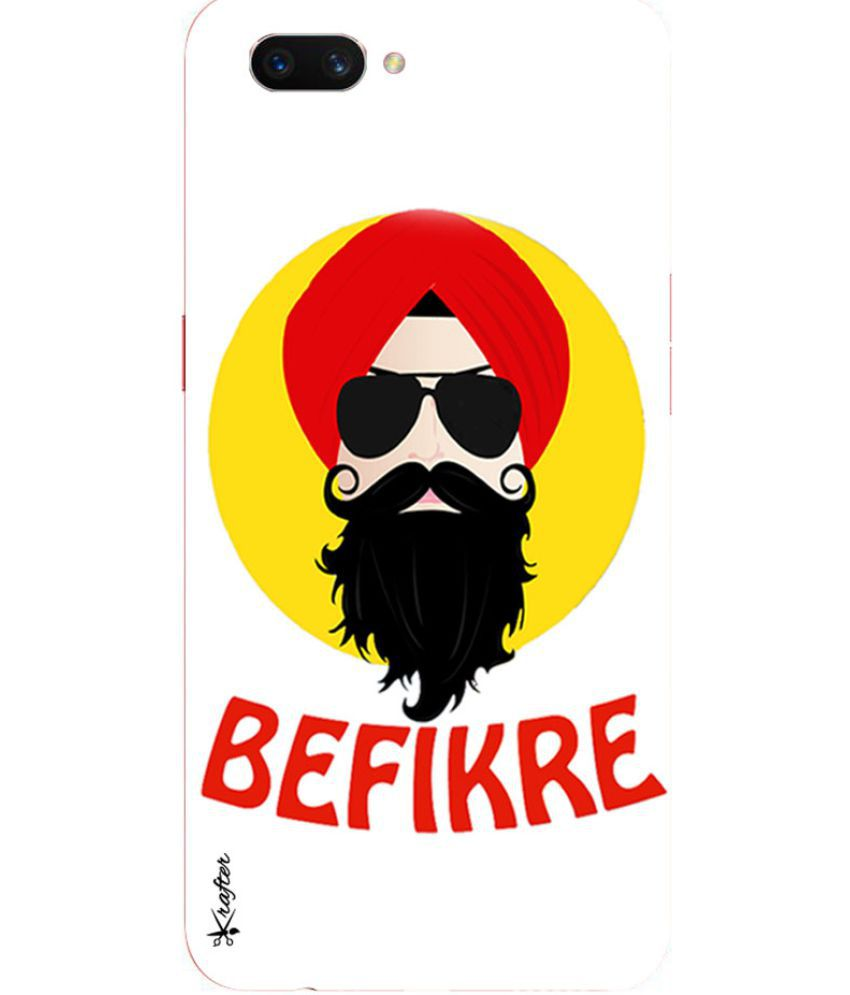 Oppo A3s Printed Cover By Krafter