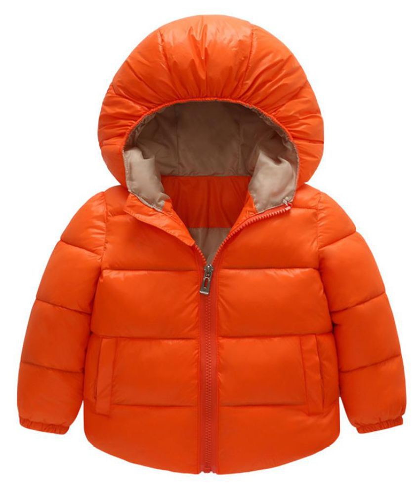 Child Winter Kids Fashion Hooded Wadded Jacket Snowsuit Warm Padded Coat Outwear