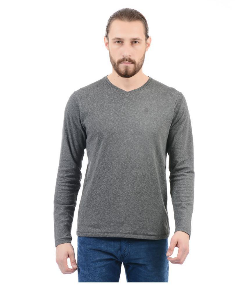 Pepe Jeans Grey Full Sleeve T-Shirt