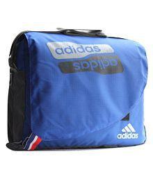 Quick View. Adidas Multipurpose Scool College Blue Nylon Casual Messenger  Bag 6b0dd882c8526