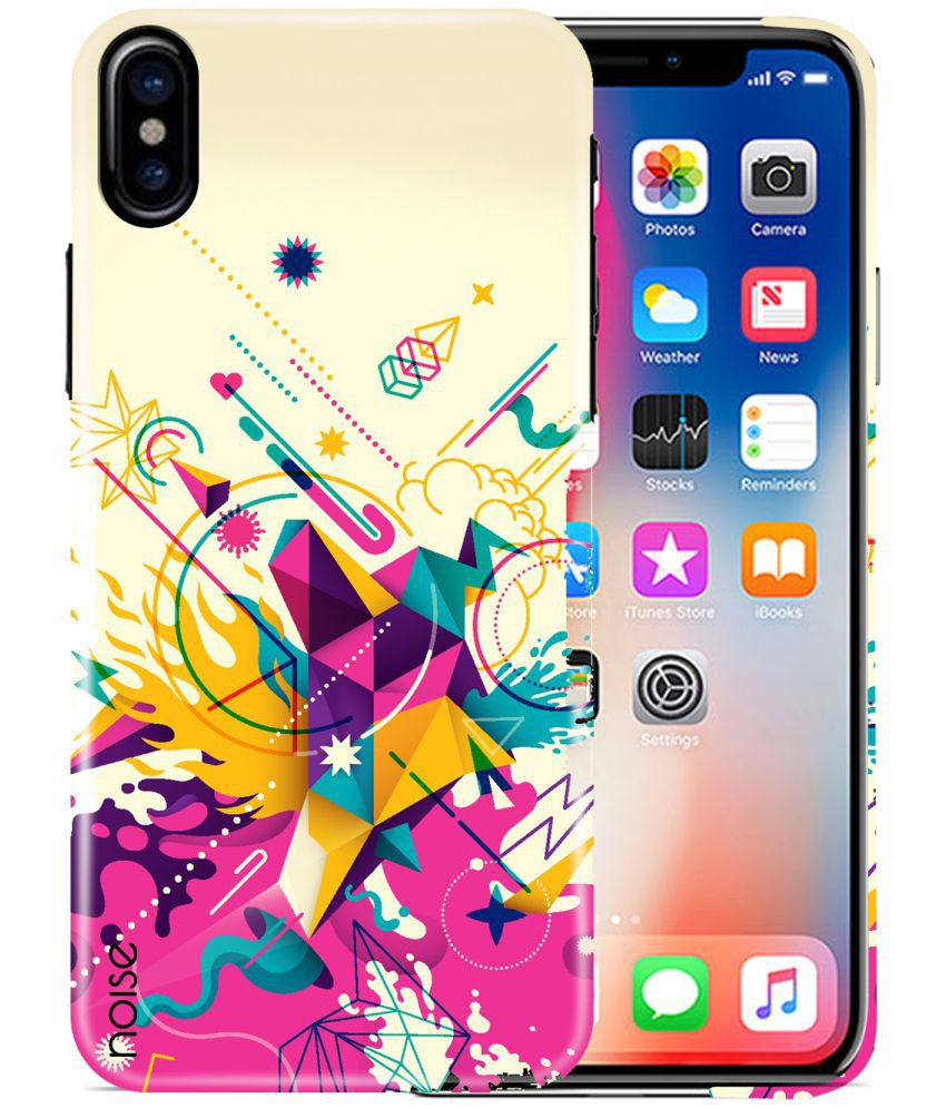 Apple iPhone XS Printed Cover By Noise