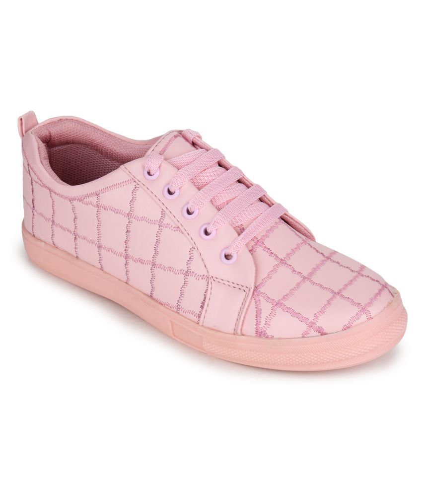 Fashtyle Pink Casual Shoes