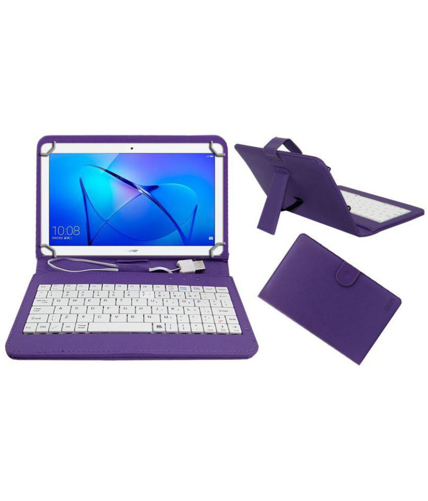 sports shoes 85c7c eb297 Huawei Honor Mediapad T3 10 Keyboard Cover By ACM Purple