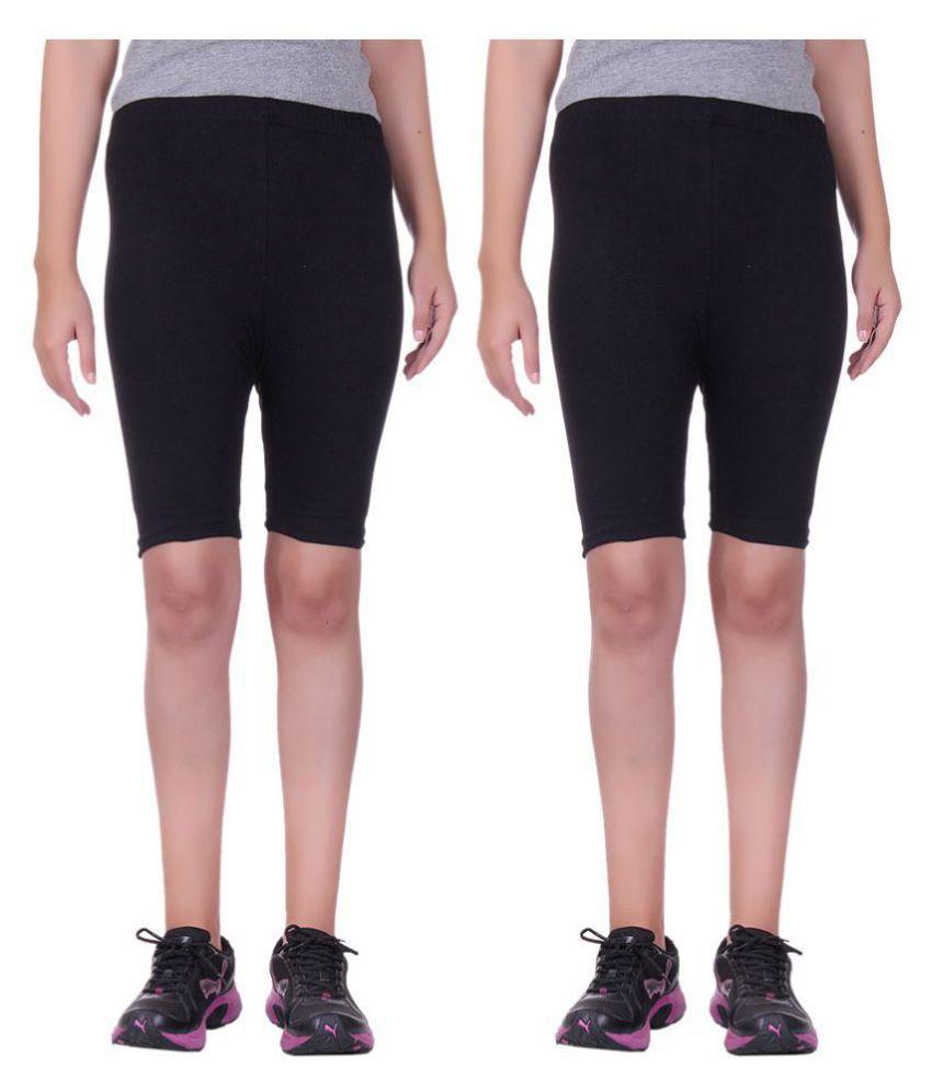 Belmarsh Girls Cycling Shorts - Pack of 2