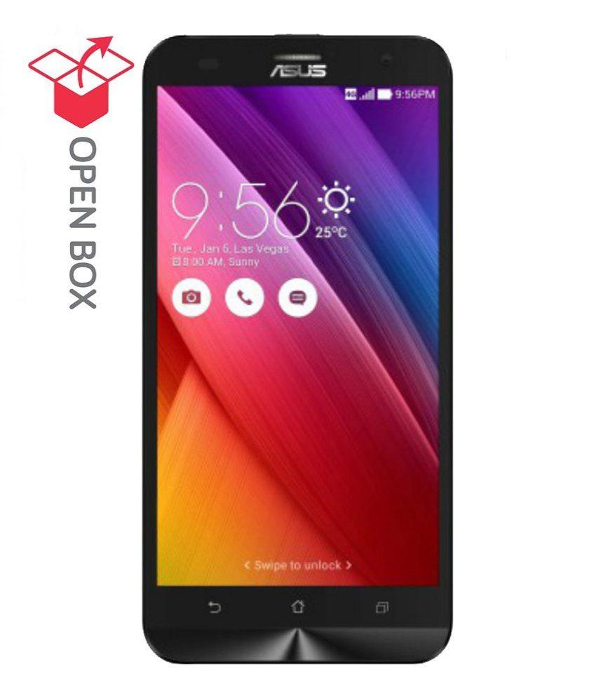 Open Box Asus Zenfone 2 Laser 16gb White Gb Ram 6 Month Brand Lcd Touchscreen Original Warranty