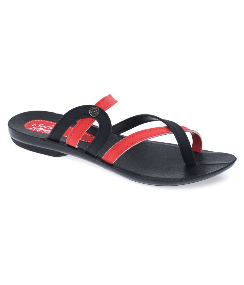 cb00a386a Paragon Red Slippers Price in India- Buy Paragon Red Slippers Online at  Snapdeal