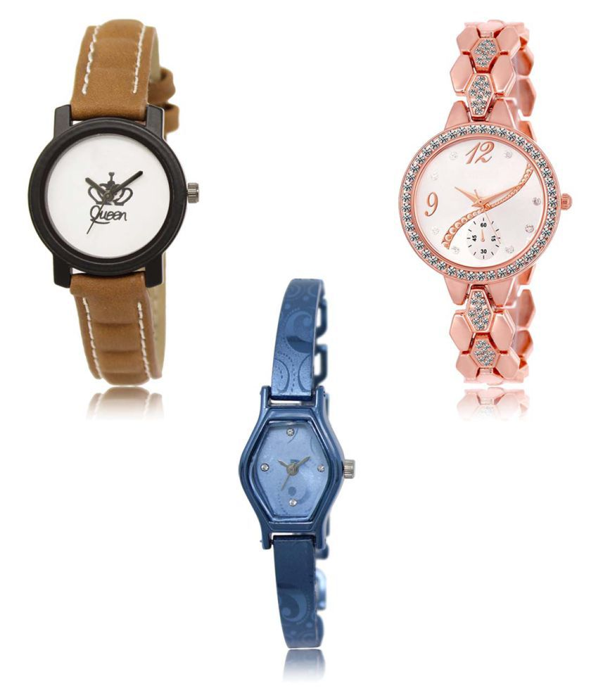 Analog Exclusive Mens Watches Combo of 3 LR209-215-218