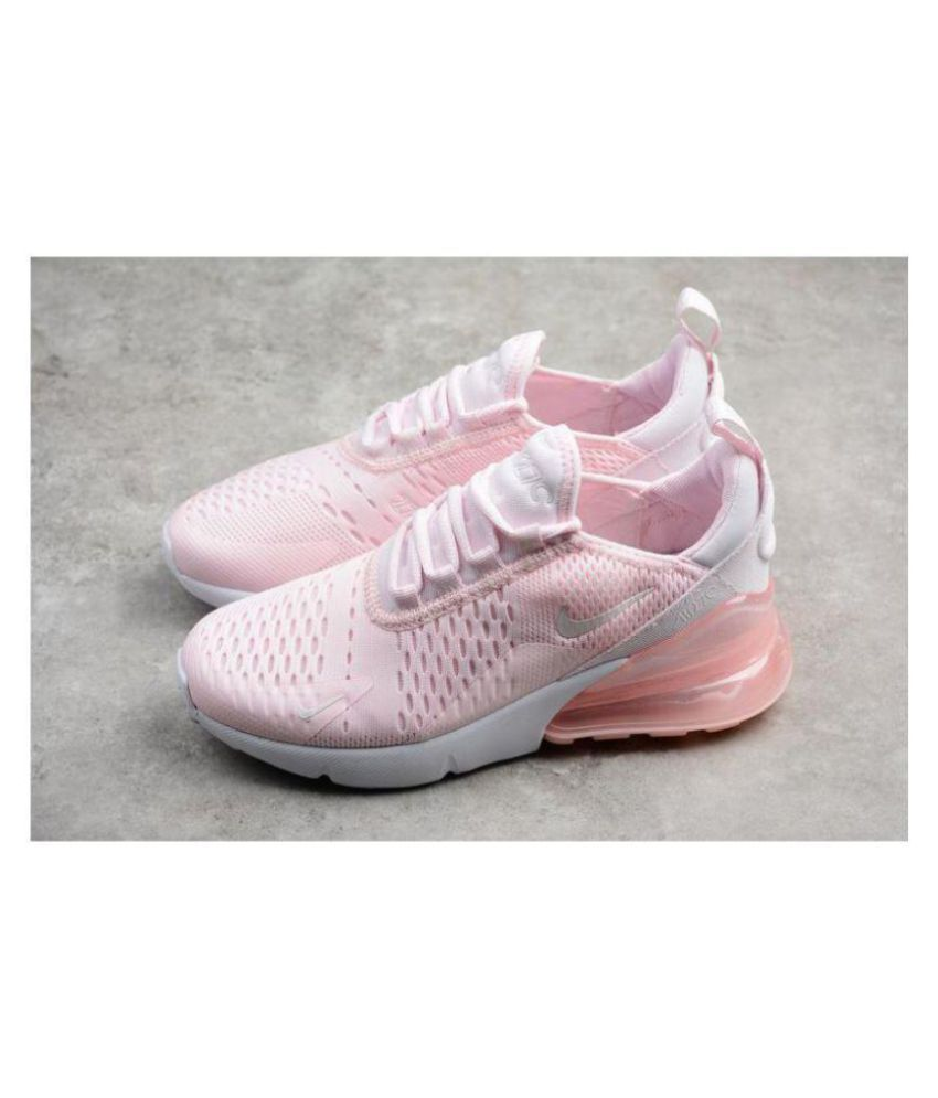more photos a8c02 ec351 Nike Air Max 270 Pink Womens Running Shoes