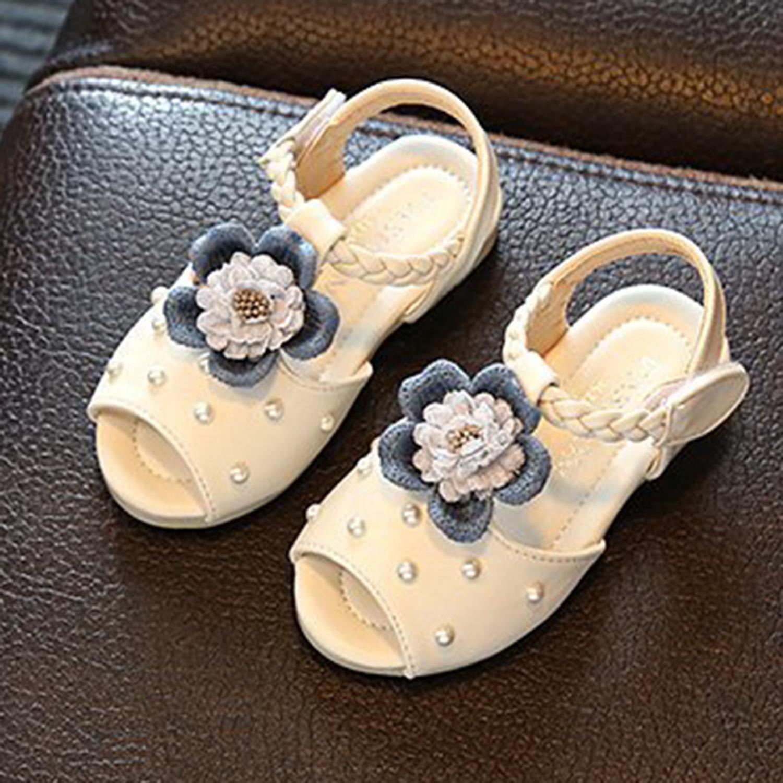 Summer Girls Sandals Anti Skid Flower Children Shoes Fashion