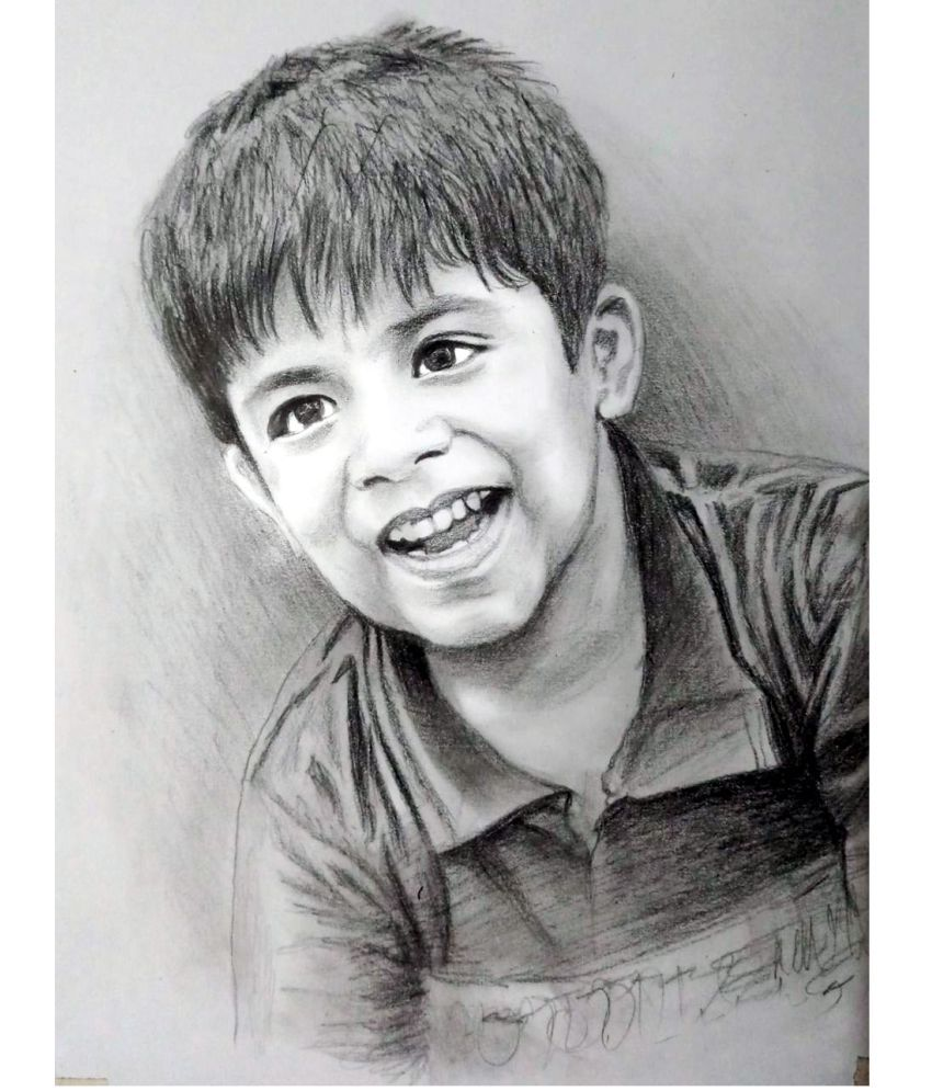 Magic gift handmade pencil sketch paper painting without frame buy magic gift handmade pencil sketch paper painting without frame at best price in india on