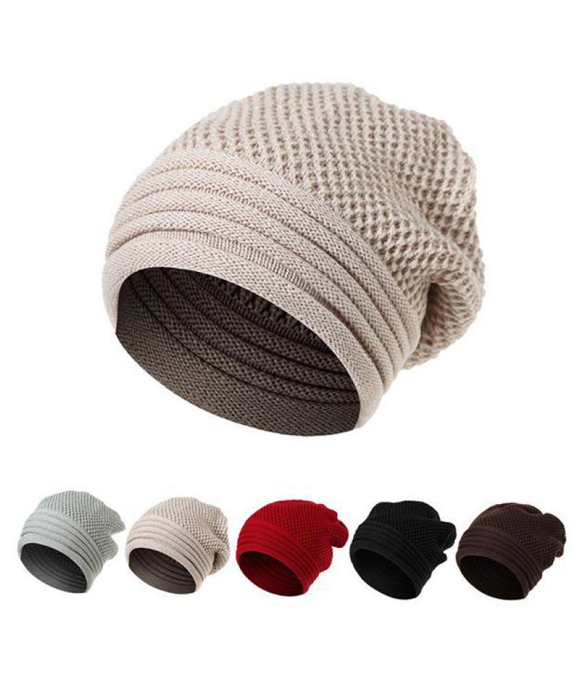 61f645cd6862c ... Men Women Winter Ear Warm Knitted Hats Casual Sport Skullies Beanies Hat  ...