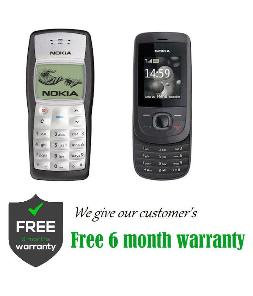 Refurbished Buy Nokia 1100 Get 2220 Black - Feature Phone