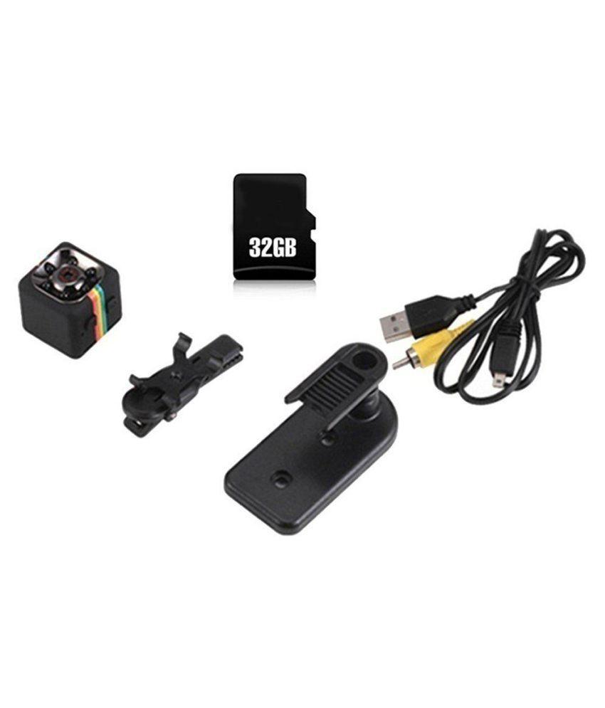 SQ11 Car DVR Mini Camera FHD 1080P Infrared Video Recorder with 32G TF Card