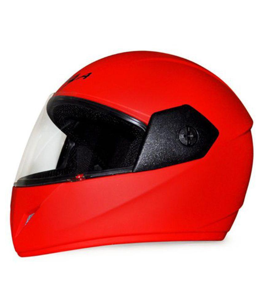 Vega Auto  - Full Face Helmet Red M