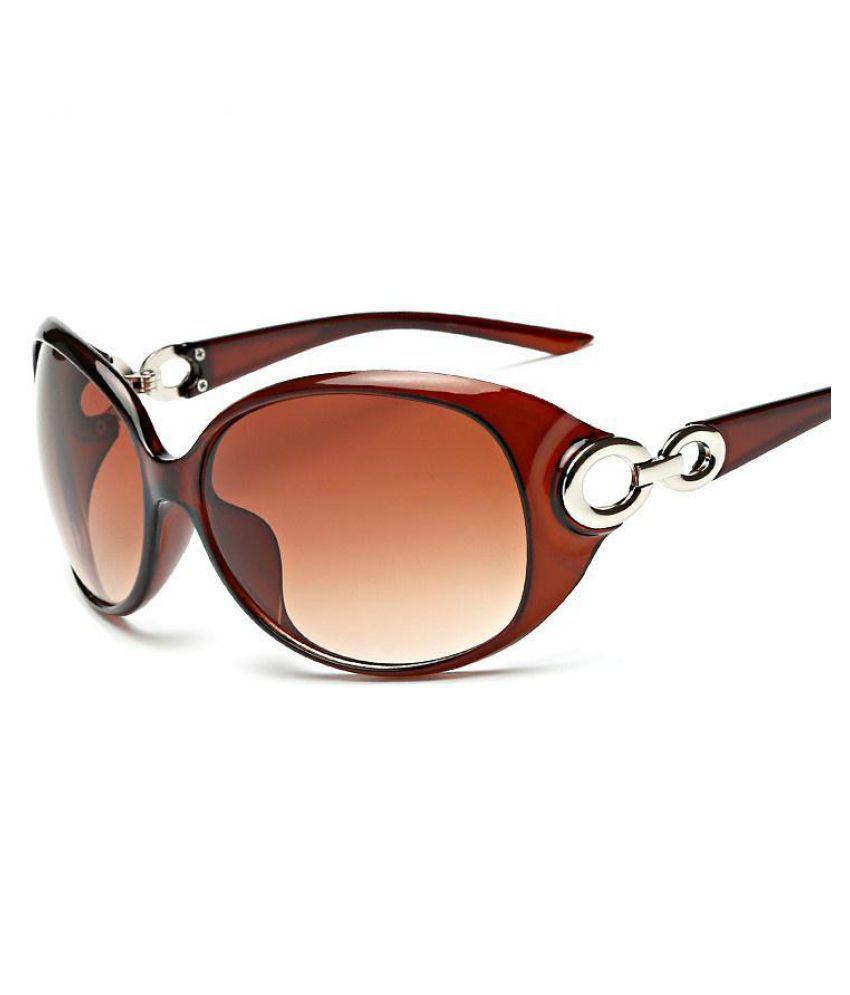 Generic Brown Round Sunglasses ( unknown )