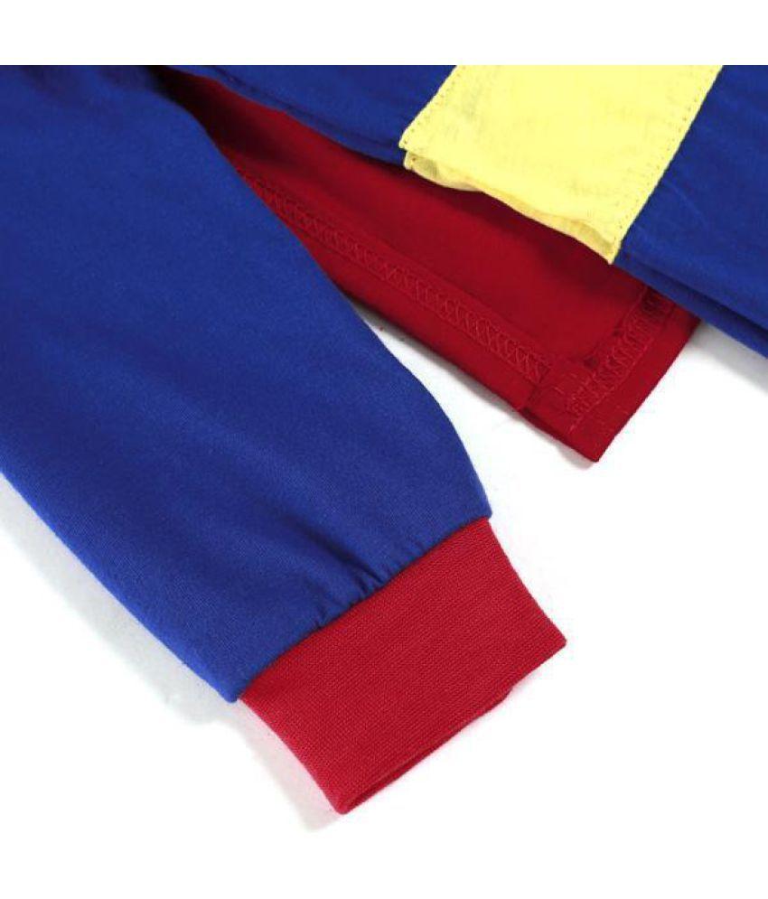 133fa0ac4 ... Superman Suit Fancy Dress SuperHero Costume Jumpsuit for Baby Toddler  Kid Boy Romper Gift ...