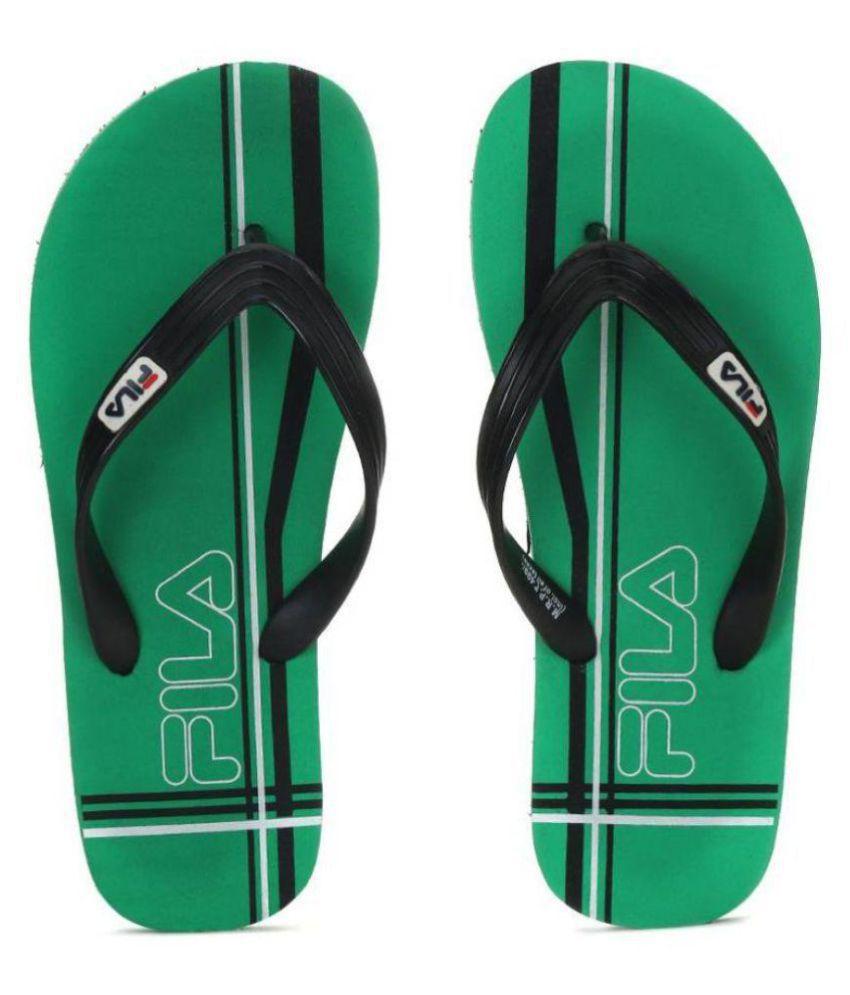 396a1880fdf4 Fila Black Thong Flip Flop Price in India- Buy Fila Black Thong Flip Flop  Online at Snapdeal